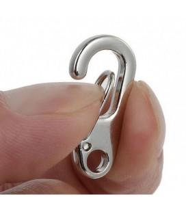 Mini karabijnhaak sleutelhanger