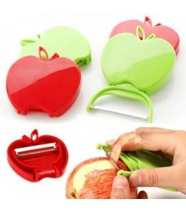 Dunschiller in appel vorm