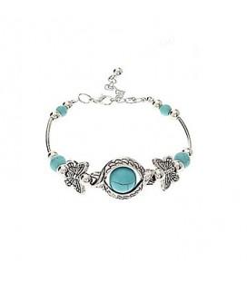 Dames vlinder armband