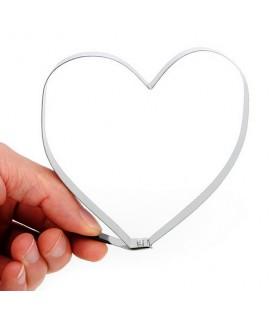 Hart vormige ei bak ring
