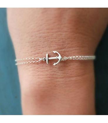 Anker dames armband