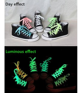 Schoenveters glow in the dark