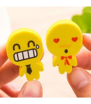 Emoji potlood gum